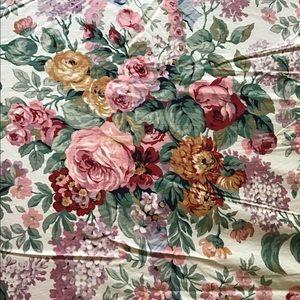 Ralph Lauren top sheet full size Allison floral